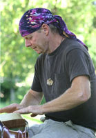 Rusty Wiltjer live performance.. in his bandana
