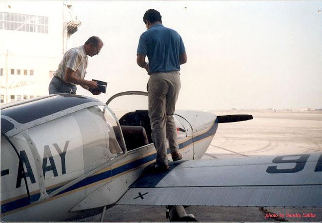 Luqa Airport 1986