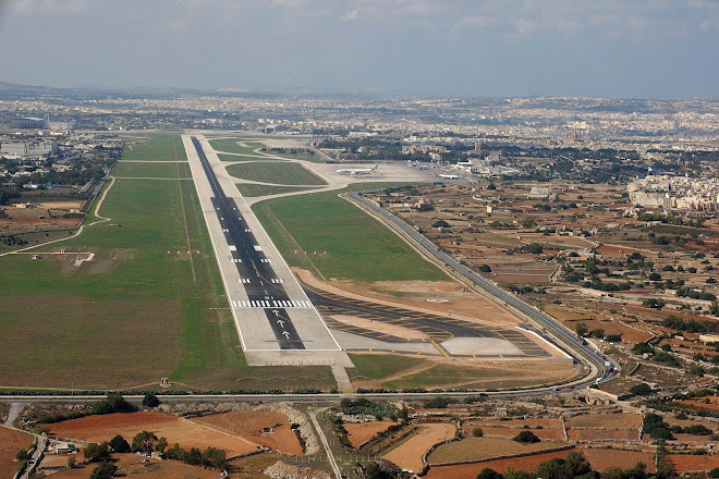 Malta International Airport 2008.