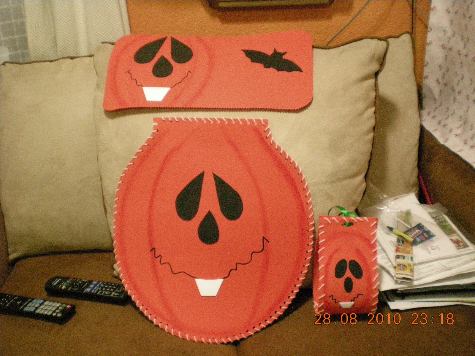 Juegos De Baño Halloween:El Ropero de Sonia México: Juego de Baño para halloween