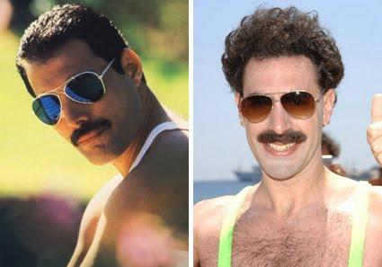Freddie Mercury couple