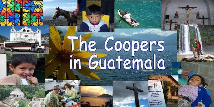 The Coopers in Guatemala