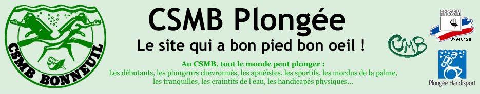 CSMB Plongée
