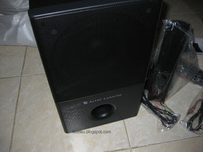 Altec Lansing VS4121 subwoofer