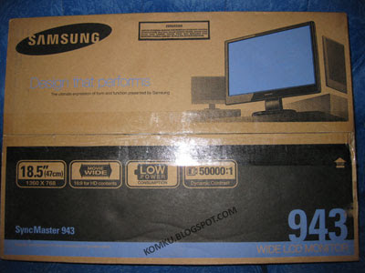 Samsung LCD 943 box front