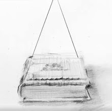 Book drawn in one-point perspective