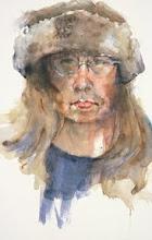 Linda in Fur Hat