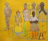 Arrangement of Figures in Yellow by H. Craig Hanna