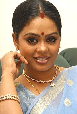 TV Actress Devipriya in sari