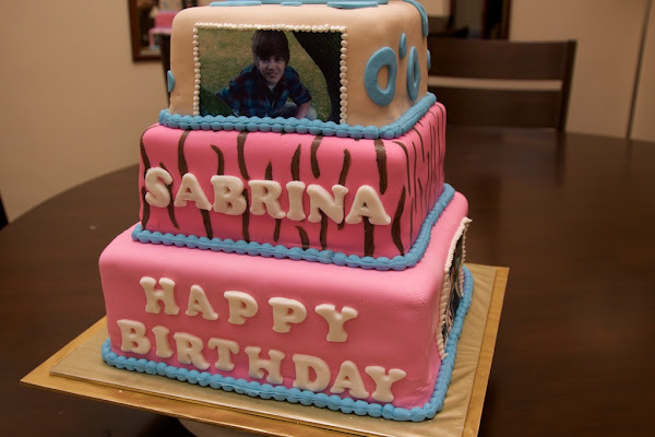another justin bieber cake picture