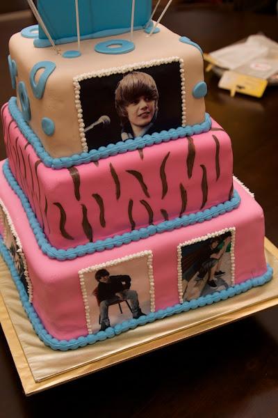yummy justin bieber birthday cake