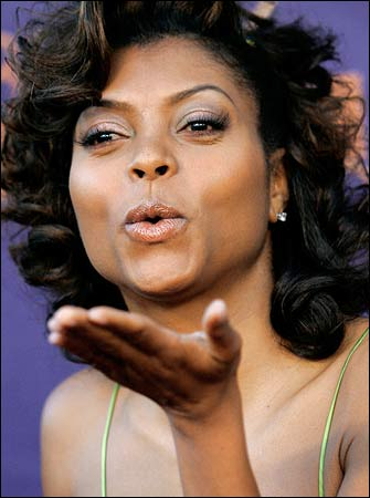 Taraji P. Henson at Essence Oscar Celebration .