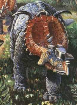 pachyrhinosaurus 10 Dinosaurus Bertanduk Paling Menakjubkan