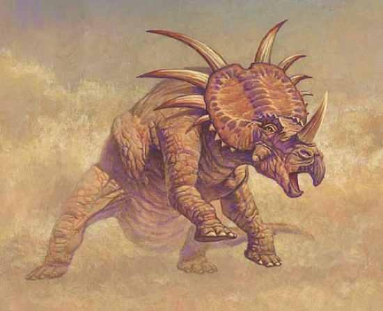 styracosaurus 10 Dinosaurus Bertanduk Paling Menakjubkan