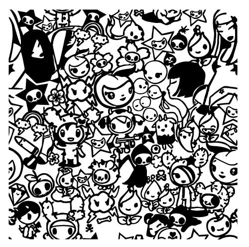 free coloring pages of tokidoki color pages