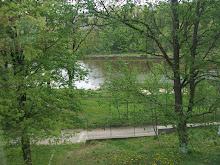 The lake at the camp.