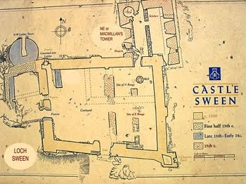 Mcsweeney 39 s blog a history of castle sween for Castle rock floor plans