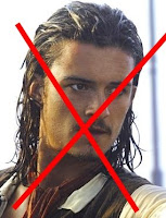 Orlando Bloomb as Will Turner