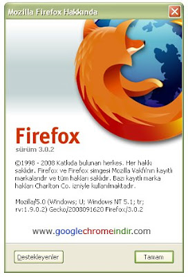 Firefox Sürüm 3.0.2