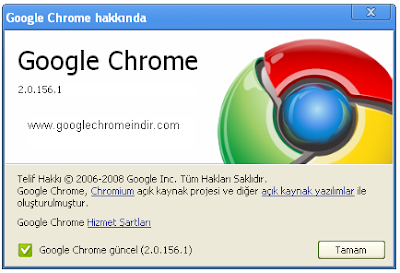 Google Chrome 2.0.156.1