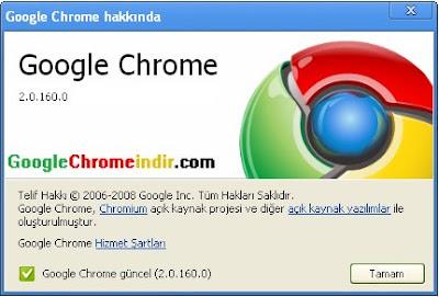 Google Chrome 2 Güncelleme