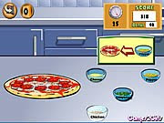Cooking Pizza Game