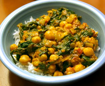 chick peas and spinach spinach chickpeas with spinach with chickpeas ...