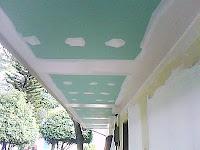 Panel de yeso anti-humedad ( tabla verde )