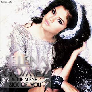 Sick  Selena Gomez on Selena Gomez   The Scene   Sick Of You Lyrics   Mp3 Lyrics Mania