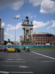 Площад Испания в Барселона