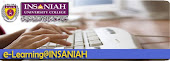 e-Learning at INSANIAH UNIVERSITY