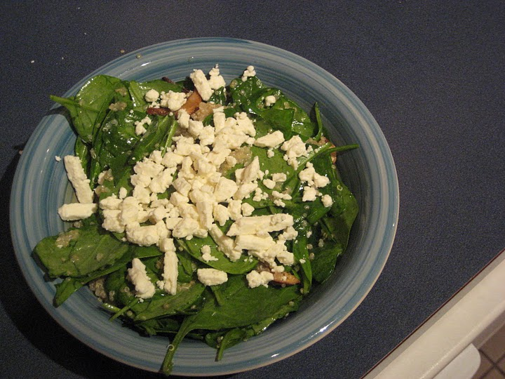 Warm Quinoa, Spinach, and Shiitake Salad directly from Martha Stewart ...