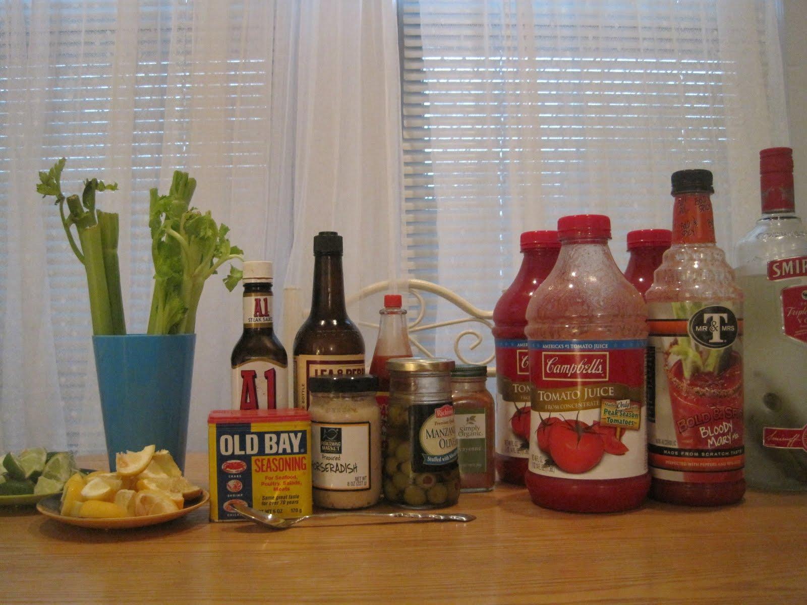 Horseradish Vodka Bloody Mary Recipes — Dishmaps