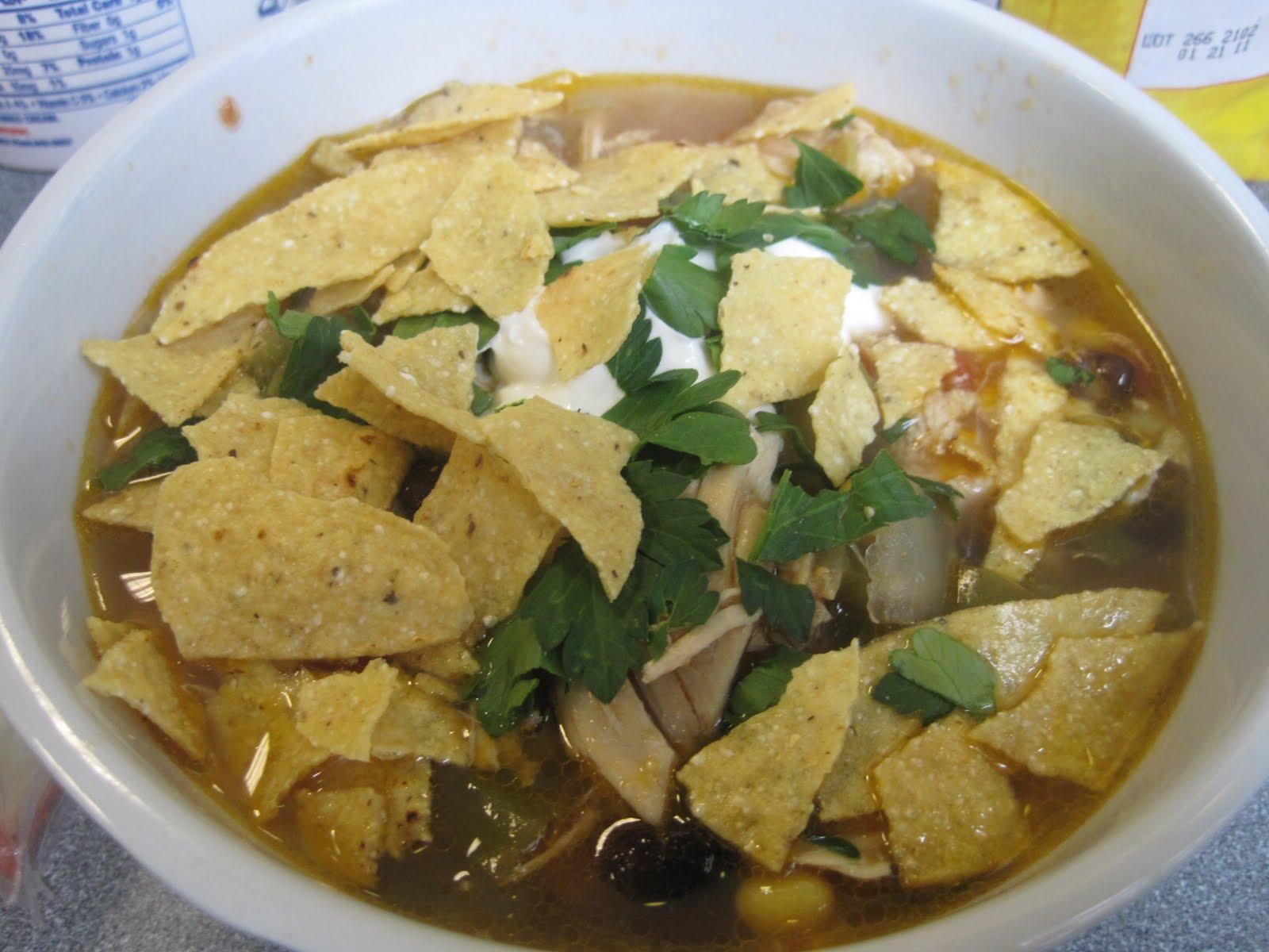 Corcoran Street KitchenChicken Tortilla Soup
