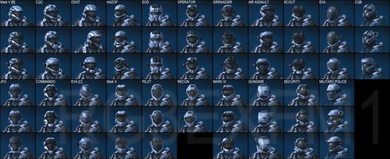 halo reach armor. Halo Reach Armor Guide