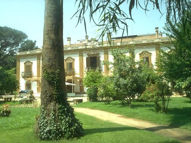 Biblioteca Comunale Villa Trabia Palermo