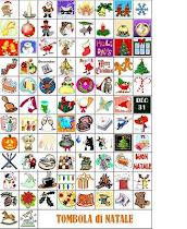 Candy - CALENDARIO D'AVVENTO....giochiamo con la Tombola di Natale!!!