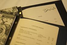 O menu