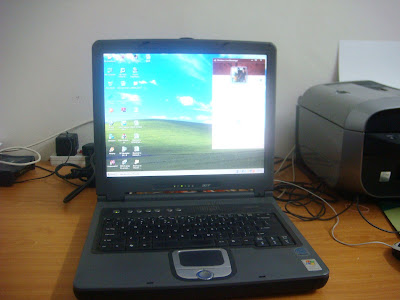 old compaq presario laptop. This is the old laptop which i