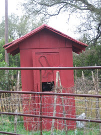 Just an old outhouse