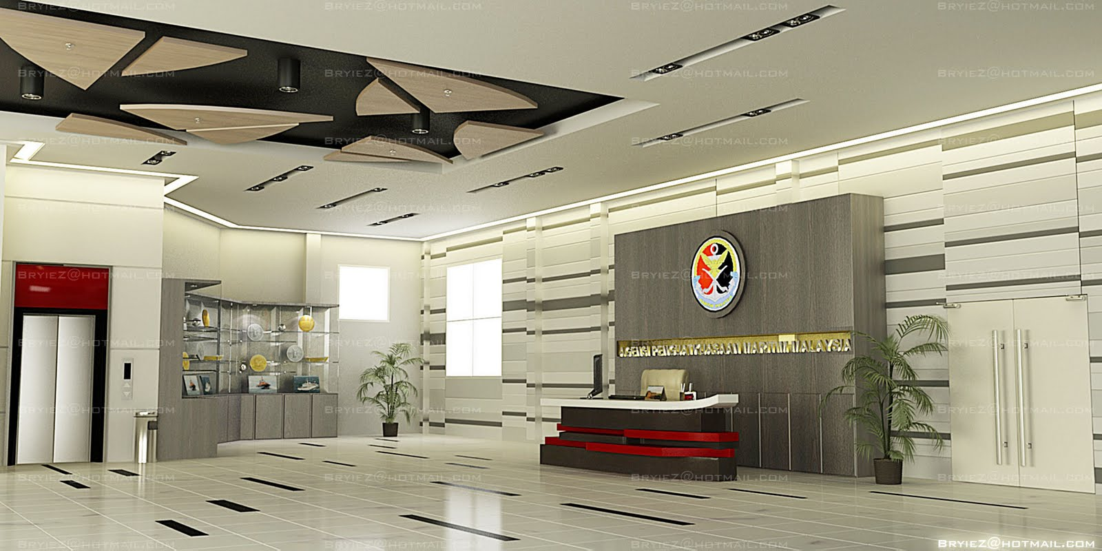 Great Modern Office Lobby Interior Design 1600 x 800 · 163 kB · jpeg