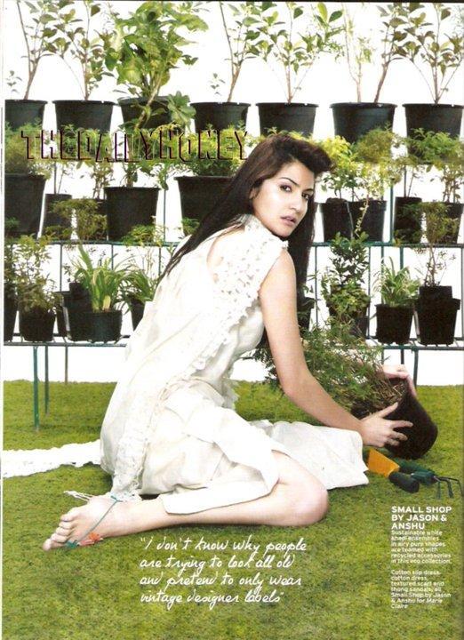 marie claire magazine jan 2011