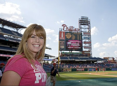 paula creamer first pitch