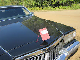 The Book Limo (note hood ornament)