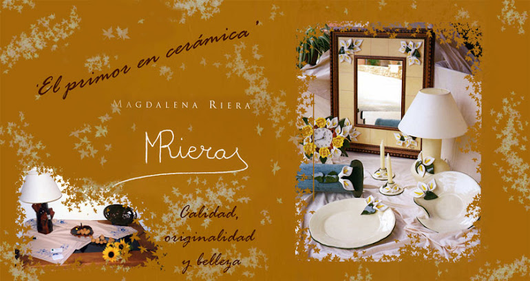 Cerámica y piezas para Belenes de Magdalena Riera