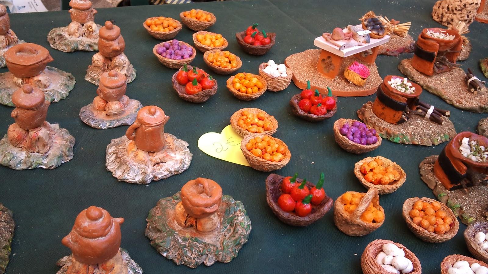 Cer mica y piezas para belenes de magdalena riera navidad for Ceramicas para piezas