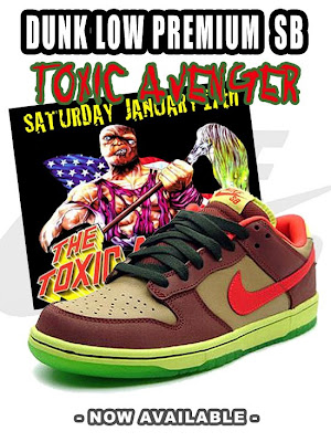 best service 9d8db e1ce8 The Nike Dunk SB Toxic Sea Robin, formerly known as the Toxic Avenger, is  now available at SHOWROOM. The shoe takes influence from the toxic Sea Robin  fish.