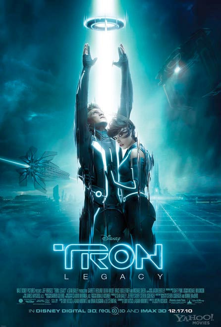 Sequels, I see cyber sex, I see tron babies. I see Disney's Neo or perhaps ...