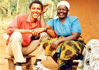 obama with black grandmother sort of small Why Hussein Is Fucking America