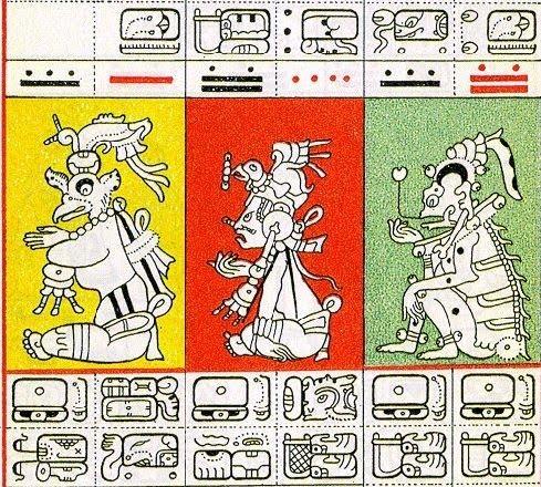 Mayan pictograph